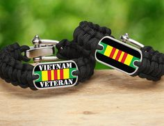 Vietnam Veteran Survival Straps® gear is now available on our website.  All gear  is made in America from military spec paracord and a portion of all our proceeds goes to help support Wounded Warrior Project. We are thankful for all our military veterans and hope the ones that served in Vietnam like this new addition.