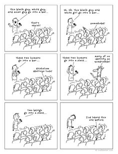 The joke. By Jim Benton.