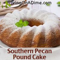 This Southern Pecan Pound Cake Recipe has only 5 ingredients, doesn't need frosting and is delicious! Pecans and coconut- Does it get any better than that?