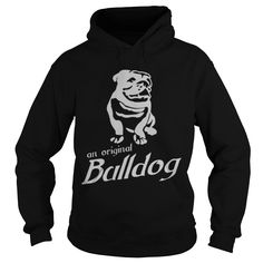 Harpua BULLDOG White Logo Dad Mom Lady Man Men Women Woman Girl Boy Lover