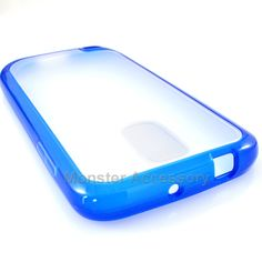 The blue softgrip hard case gel cover for the Samsung Galaxy S2 Hercules T-Mobile is a mixture of hard plastic and outer TPU skin, combined into one case. It is very stylish and protects your phone from scratches and scuffs. It comes in many different colors for your preference.