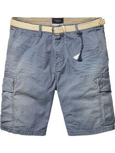 Cargo Shorts |Short pants|Men Clothing at Scotch & Soda