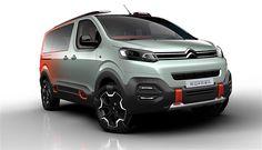 Selon les rumeurs un SUV sur base du Spacetourer est en préparation chez Citroën via: autoevolution - http://ift.tt/1HQJd81