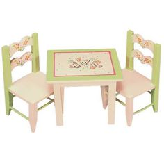 Child's Three Piece Table Set