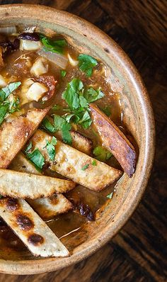 Chicken Tortilla Soup. This is one of the most flavourful soups I have ever had, and it is so easy to make!