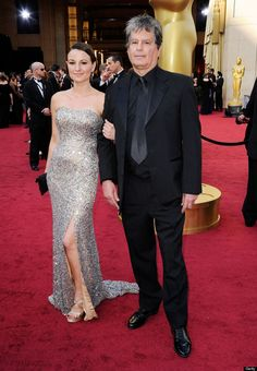 """Robert Gould, nominated for Art Direction for """"The Artist,"""" at the #oscars 2012 - just look at the stunning red carpet!  :)  #carpetcrazy #carpetonedfw"""