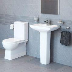 Modena™ 60 Full Pedestal Bathroom Suite