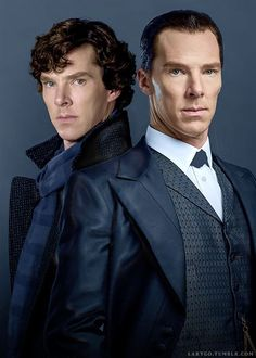 Sherlock Holmes - I definitly prefer the curley hair :P                                                                                                                                                                                 More