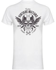 UK's largest range of Hot Rod, Biker, Kustom Kulture clothing and accessories Kustom Kulture, Wings, Motorcycle, Hot, Cotton, Mens Tops, T Shirt, Clothes, Fashion
