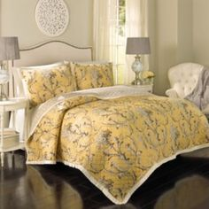 Historic+Charleston+Cecelia+Reversible+3-piece+Quilt+Set
