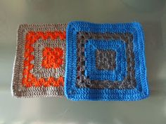 The Anarchist Knitter: Granny, Meet the Stripes - Free Crochet Pattern for a 8' Granny Square