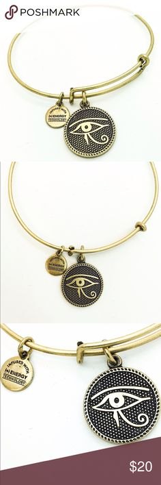 """Alex and Ani Eye of Horus II EWB RG New without Tags!!                                                                                               Pictures by me!                                                                               ALEX AND ANI products are proudly designed&crafted in America&made with love. ALEX AND ANI products are infused with positive energy. Ancients referred to this precious energy as """"chi"""" & """"prana,"""" whereas modern science refers to it as vital force. It is…"""