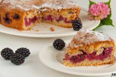 Carolines blog: Blackberries - cinnamon cake