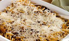 Ces pâtes cuites au four à la sauce crémeuse et aux champignons seront bientôt le repas préféré de votre famille.  | Le Poulet du Québec