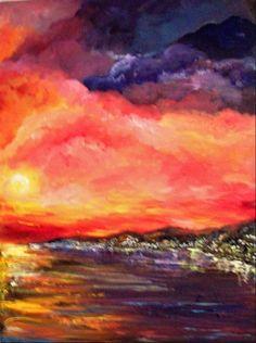 Original Oil on Canvas. Available. By Stephanie Hoffman. Beautiful!