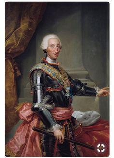 """""""Carlos III"""" Rafael Mengs."""