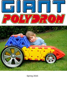 #Giant #Polydron #Vehicle #Builders Set.  #Children will learn how to grab, pull and push their #Giant #Polydron #models, which helps with their #co-ordination and synchronises movement. Make all sorts of models such as a hot rod, a tractor, a bus or a racing car! The easy to use, freely rotating wheels add a new dimension of movement to this very popular product.  Big wheels are 36cm across! Great for #Earlyyears!