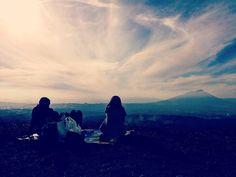 Picnic in Mt Iwate, Morioka... #iwate #iwateyama #morioka #picnic