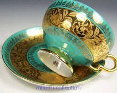 Image result for ROSENTHAL GOLD GILT PINK DEMITASSE FOOTED CUP & SAUCER