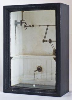 Rick Araluce - Thomas Paul Fine Art Cornell Box, Joseph Cornell, Altered Boxes, Altered Art, Shadow Box Art, Urban Architecture, Art Courses, Find Objects, Assemblage Art