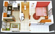 departamentos pequeños -