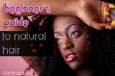 Beginner's Guide to Natural Hair - Get tips for keeping your hair healthy, learn secrets to growing your hair longer & learn which products you should use. Black Natural Hair Care, Natural Hair Care Tips, Black Hair Care, Natural Hair Journey, Natural Hair Styles, Long Hair Styles, Natural Beauty, Au Natural, Going Natural