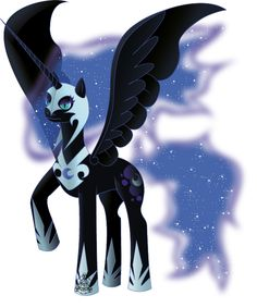 Ultimate Nightmare Moon by ShadowVariaMephiles