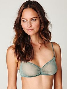Intimately Glitter Mesh Bra at Free People Clothing Boutique - StyleSays