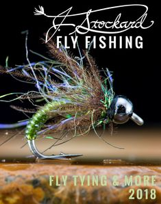 fly tying and fly fishing catalog, 92 full color pages
