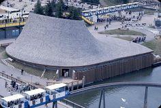 Expo '67. le pavillon des provinces de l'Ouest du Canada