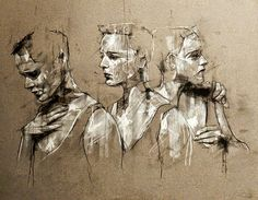 Guy Denning guy denning how to cut thin hair to make it look thicker - Thin Hair Cuts Portrait Art, Portraits, Portrait Paintings, Somerset, A Level Art Themes, Art Alevel, Figurative Kunst, Concrete Art, Abstract Painters