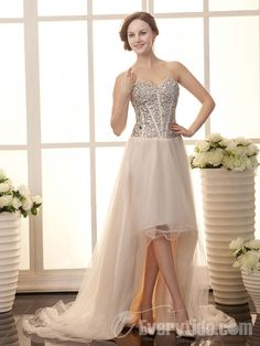 Grenadine and Satin Sweetheart Sweep Train A-line Cocktail Dress with Crystal Cheap Prom Dresses Online, Cheap Gowns, Prom Dresses For Sale, Prom Party Dresses, Quinceanera Dresses, Homecoming Dresses, Prom Gowns, Dress Online, Wedding Dresses