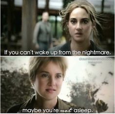 If you can't wake up from the nightmare, maybe you're not asleep.