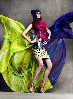 """Flare1 """"be bold, be colorful!"""""""