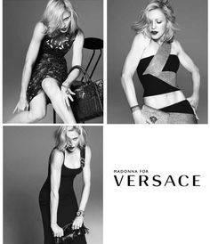 Madonna for Versace 2015 campaign - she's still got it