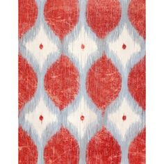Ikat Art Décor V - could totally diy this
