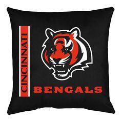 Cincinnati Bengals NFL Locker Room Collection Toss Pillow