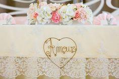 Main wedding table decoration www.myday.sk