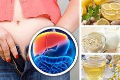 5 bebidas nocturnas para desintoxicar el hígado y bajar de peso