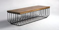 Wired Bench / Phase Design / Reza Feiz Designer