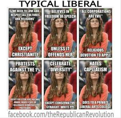 politics LIBERALS You can lead them to politics. but you can't make em think! Liberal Hypocrisy, Liberal Logic, Stupid Liberals, Liberal Left, Politicians, Conservative Politics, Freedom Of Speech, Trump, Thats The Way