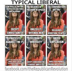 those liberals.
