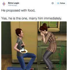 "23 Funny Tweets Only ""The Sims"" Fans Will Get ● Remember the fights over this game Ed!!"