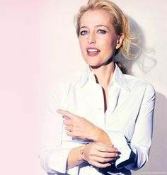 Gillian Anderson is just not ok.