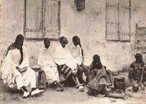 samory touré et ses épouses,en captivité à saint louis du sénégal