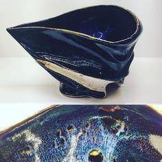 ABCB乙種十作酒器展からBucci(tp)さん曜変片口内側宇宙が広がっています #織部 #織部下北沢店 #陶器 #器 #ceramics #pottery #clay #craft #handmade #oribe #tableware #porcelain