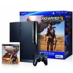 Playstation 3 - 320gb - Uncharted 3 Bundle - $310.00 - To Check Out, Click On The Link Below.
