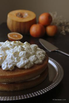Cocina compartida: Tarta de calabaza y naranja para Halloween... o no...