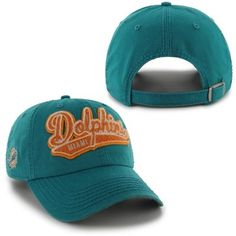 '47 Brand Miami Dolphins Youth Basic Beanie - Aqua