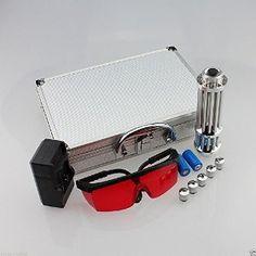 High Power 445nm Blue Laser flashlight Adjustable Focus Visible Beam Burn Match - - Amazon.com